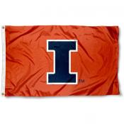 University of Illinois New Logo Flag