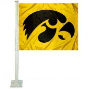 University of Iowa Car Window Flag
