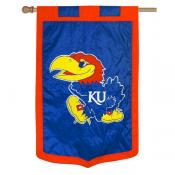 University of Kansas Banner Flag