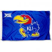 University of Kansas Big 12 Flag