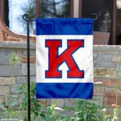 University of Kansas Big K Garden Flag