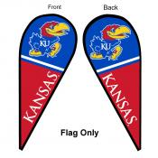 University of Kansas Feather Flag