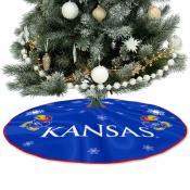 University of Kansas Jayhawks Christmas Tree Skirt