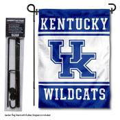 University of Kentucky Garden Flag and Stand