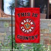 University of Louisiana at Lafayette Country Garden Flag