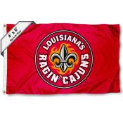 University of Louisiana at Lafayette Large 4x6 Flag