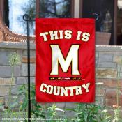 University of Maryland Country Garden Flag