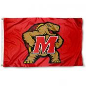 University of Maryland Terrapins Flag