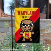 University of Maryland Tokyo Dachi Mascot Yard Flag