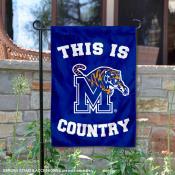 University of Memphis Country Garden Flag
