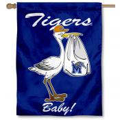University of Memphis New Baby Flag