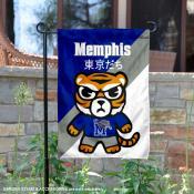 University of Memphis Tokyo Dachi Mascot Yard Flag
