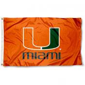 University of Miami Orange Flag