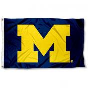 University of Michigan Block M Flag