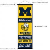 University of Michigan Decor and Banner