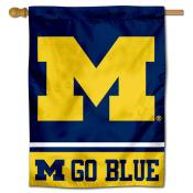 University of Michigan Go Blue Banner Flag