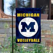 University of Michigan Volleyball Yard Flag