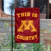 University of Minnesota Country Garden Flag