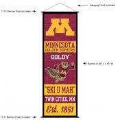 University of Minnesota Decor and Banner