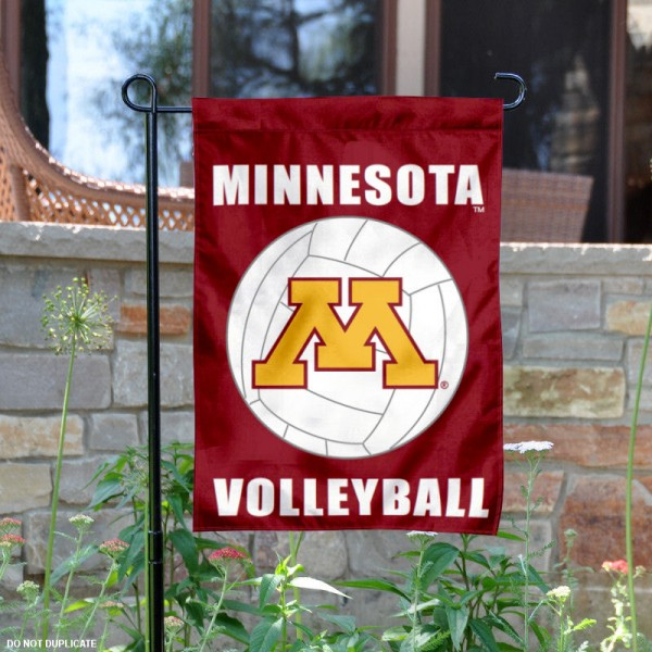 University of Minnesota Volleyball Yard Flag is 13x18 inches in size, is made of 2-layer polyester, screen printed Minnesota Gophers Volleyball athletic logos and lettering. Available with Same Day Express Shipping, Our University of Minnesota Volleyball Yard Flag is officially licensed and approved by Minnesota Gophers Volleyball and the NCAA.