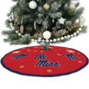 University of Mississippi Christmas Tree Skirt