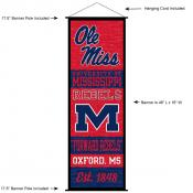 University of Mississippi Decor and Banner