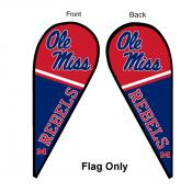 University of Mississippi Feather Flag