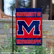 University of Mississippi Garden Flag