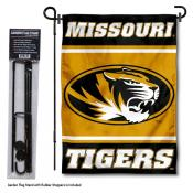 University of Missouri Garden Flag and Stand