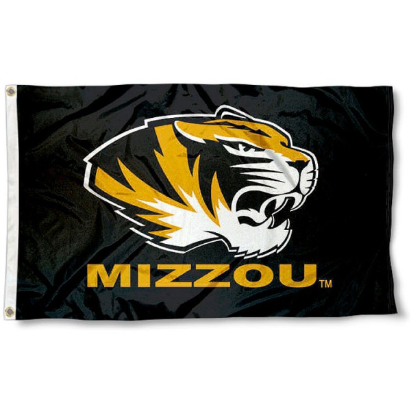 University of Missouri Tigers Flag measures 3'x5', is made of 100% poly, has quadruple stitched sewing, two metal grommets, and has double sided University of Missouri logos. Our University of Missouri Tigers Flag is officially licensed by the selected university and the NCAA