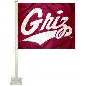 University of Montana Car Window Flag