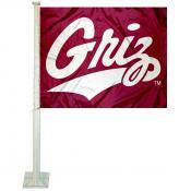 University of Montana Car Window Flag