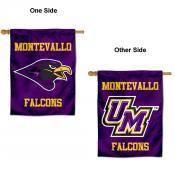 University of Montevallo Logo Double Sided House Flag
