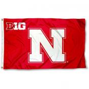 University of Nebraska Big 10 Flag