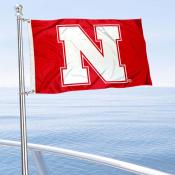 University of Nebraska Boat and Mini Flag