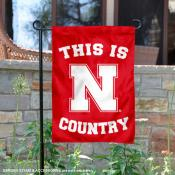 University of Nebraska Country Garden Flag