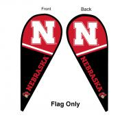 University of Nebraska Feather Flag