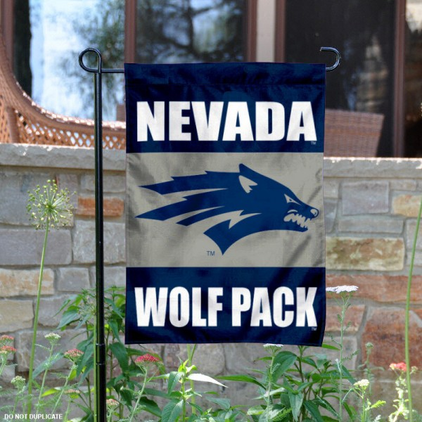 University of Nevada Garden Flag is 13x18 inches in size, is made of 2-layer polyester, screen printed University of Nevada athletic logos and lettering. Available with Same Day Express Shipping, Our University of Nevada Garden Flag is officially licensed and approved by University of Nevada and the NCAA.