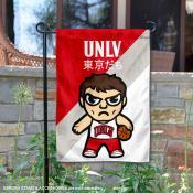 University of Nevada Las Vegas Tokyo Dachi Mascot Yard Flag