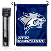 University of New Hampshire Garden Flag and Stand