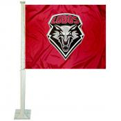 University of New Mexico Car Window Flag