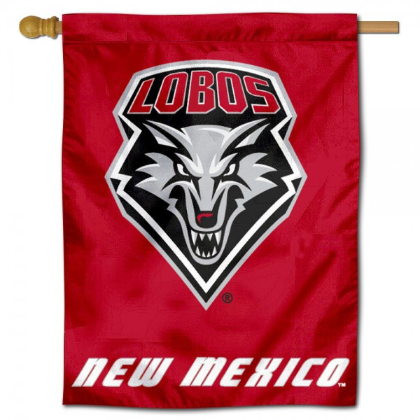 University of New Mexico Decorative Flag