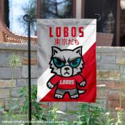 University of New Mexico Tokyo Dachi Mascot Yard Flag