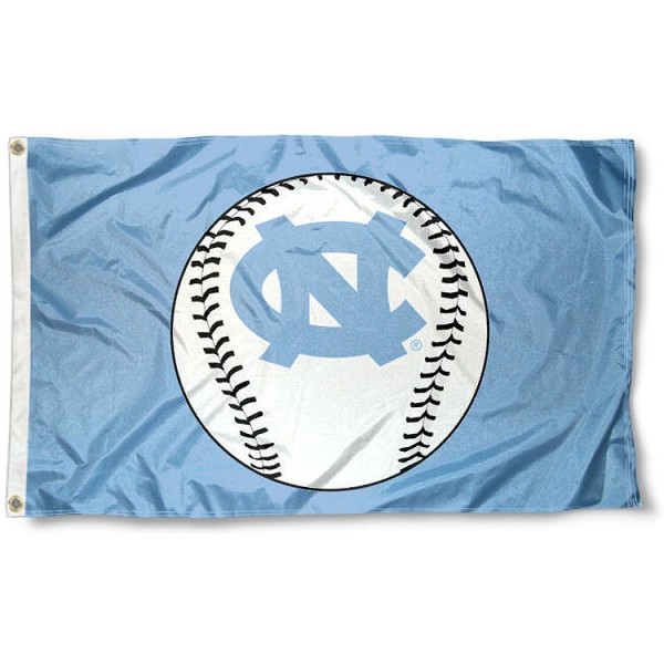 University of North Carolina Baseball Flag
