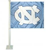 University of North Carolina Car Window Flag