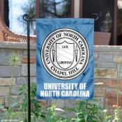 University of North Carolina Crest Logo Garden Flag