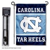University of North Carolina Garden Flag and Stand