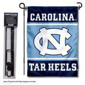 University of North Carolina Garden Flag and Stand