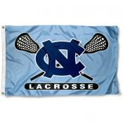 University of North Carolina Lacrosse Flag