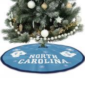 University of North Carolina Tar Heels Christmas Tree Skirt